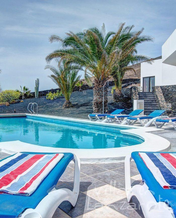 Piscina Villa Rodea - Villas en Lanzarote